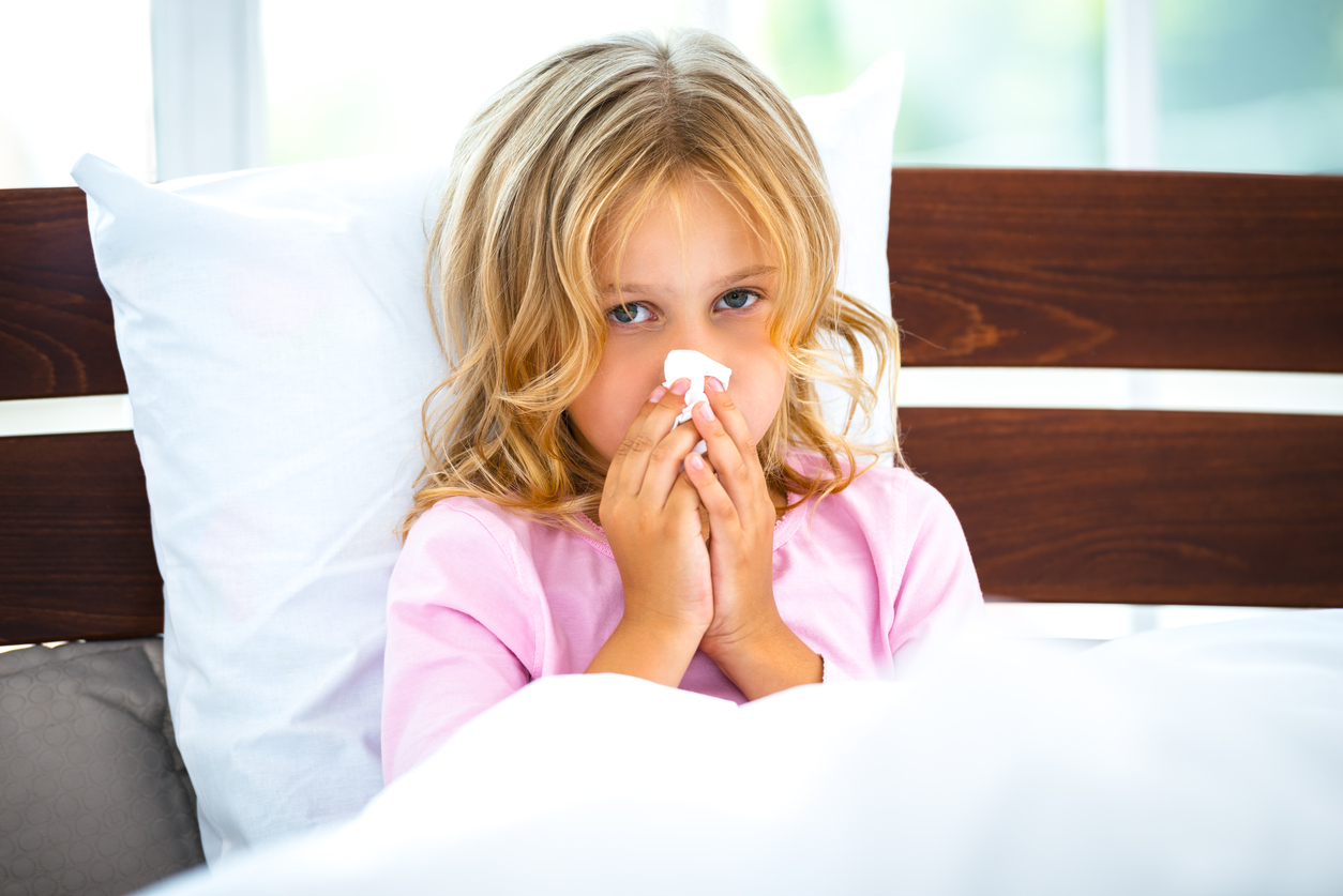 My Child Has A Cold: What Do I Do?