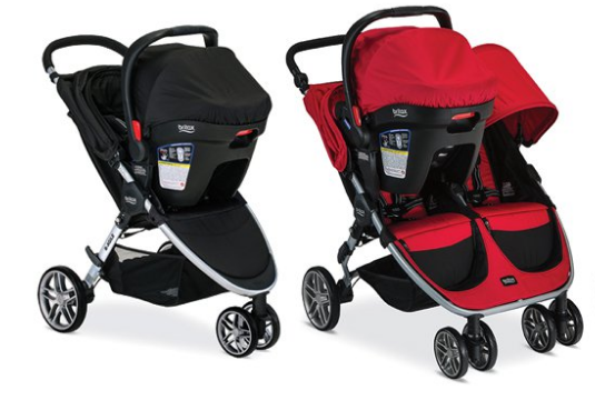 Britax B-Agile And BOB Motion Stroller Recall