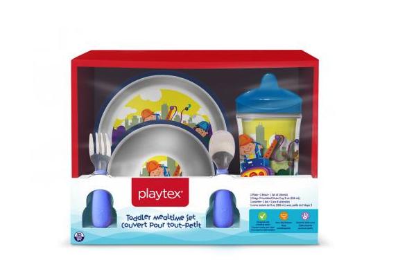 Playtex Recalls 5.5 Million Plastic Bowl And Plate Sets