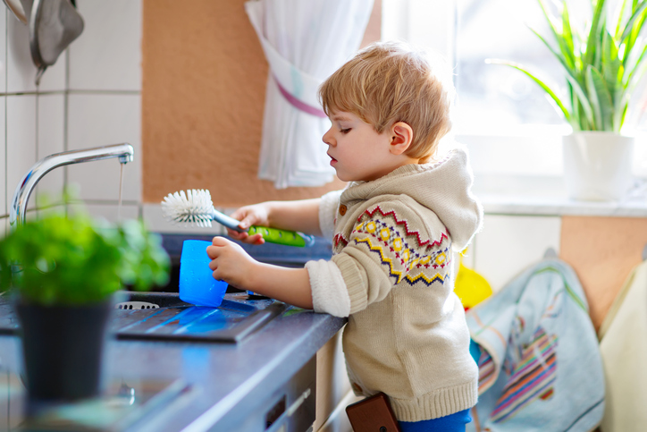Why chores help kids more than you think