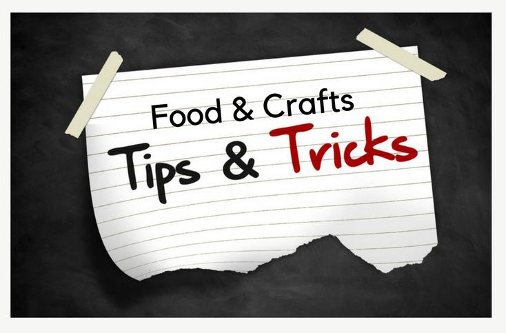 Mom Hacks: Food and Crafts Shortcuts