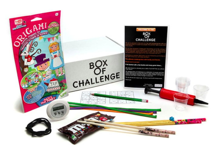 Box of Challenge: Family Game Night Was Never So Much Fun!