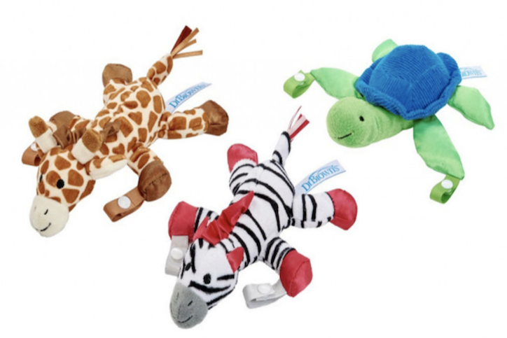 Dr. Brown's Recalls More Than 550,000 Pacifier And Teether Holders