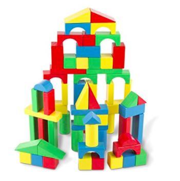 Wood blocks for kids