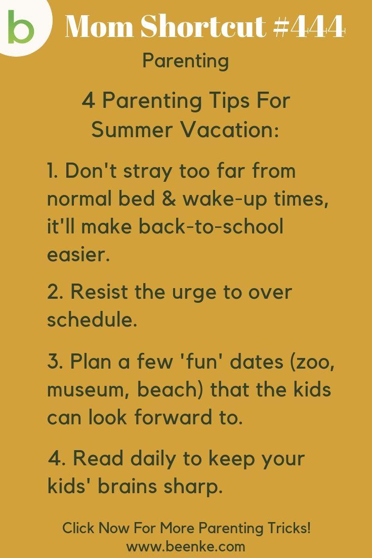 Parenting tricks