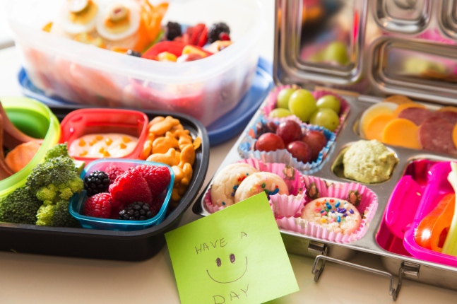 Easy Lunch Box Ideas For Kids [Printable]