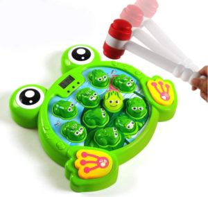 whack a frog game for toddlers