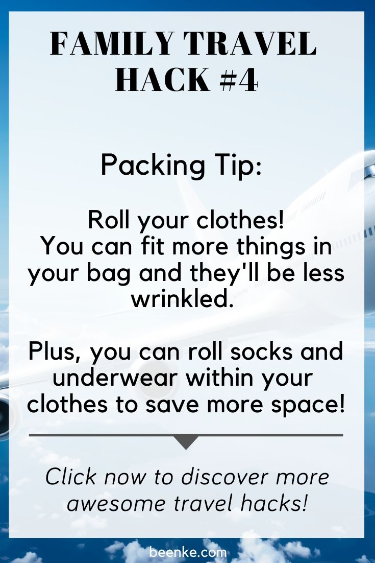 how to pack clothes the right way