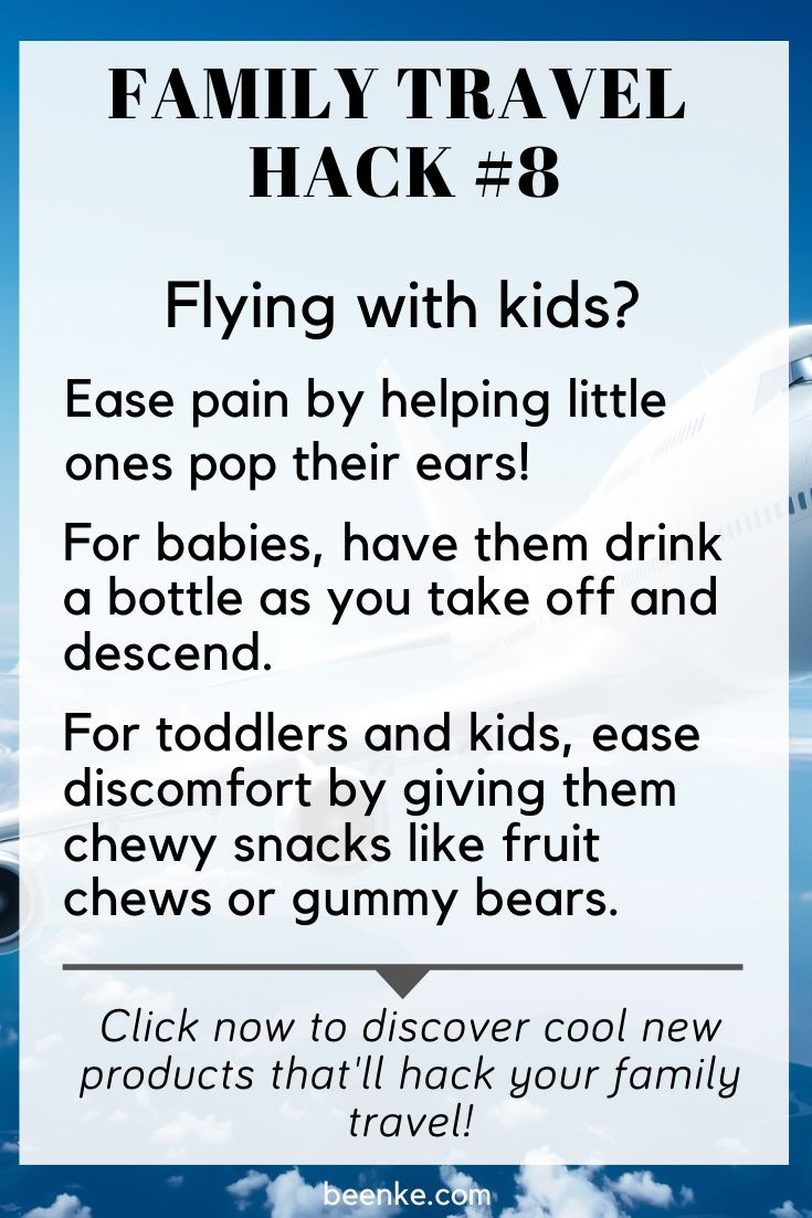 how to pop kids ears on a flight